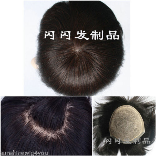 Cheap Silk Base Top Toupee Closure Best Human Hair Hairpiece