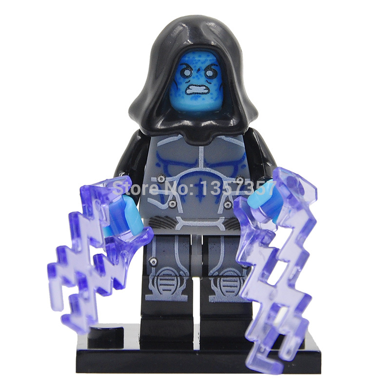 Wholesale 10pcs XINH Electro Building Blocks Super Heroes Avengers Ultron Single Minifigures Bricks Mini Figures Toys for Children