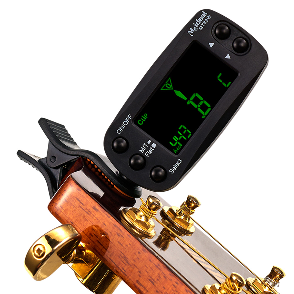 banjo metronome - Meideal MT83W Digital Metronome Clip on LCD Tuner for Guitar Bass Violin Viola Cello Mandolin Ukulele Banjo I1414