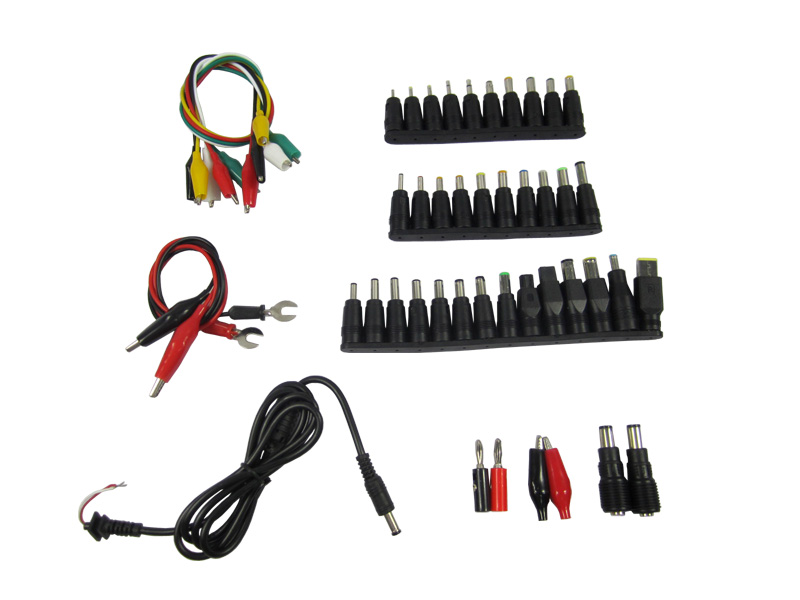 Wholesale 48 in Universal AC DC Jack Charger Connector Plug for HP DELL IBM Laptop Notebook AC DC Power Adapter Cable