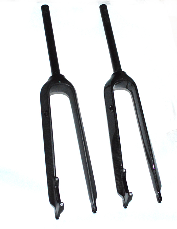 Wholesale Bicycle Fork Carbon Tapered Black Full Carbon fiber disc brake Fork MTB Carbon Bike Fork Mountain cycling parts