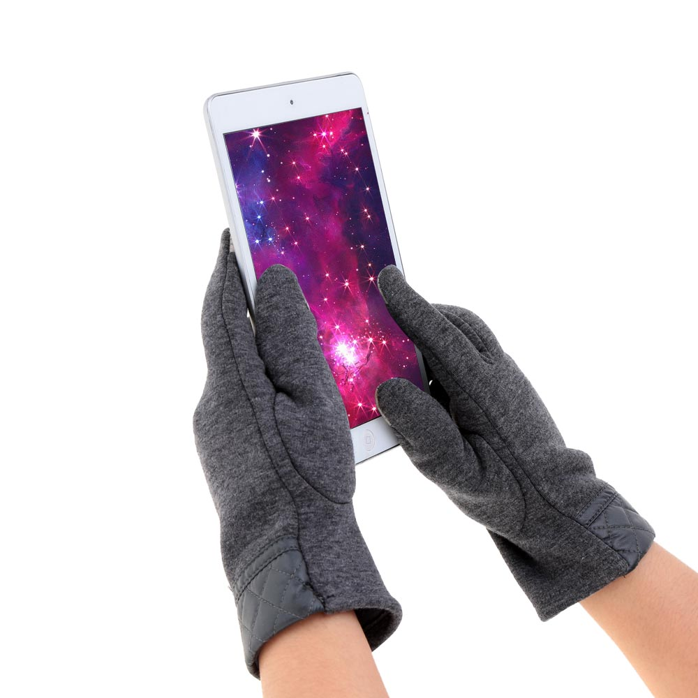 fashion gloves leather - Windproof Outdoor Men s Gloves Men Leather Glove Stretchy Soft Winter Warm Touch Screen Gloves for Mobile Phone Tablet Pad Y1626