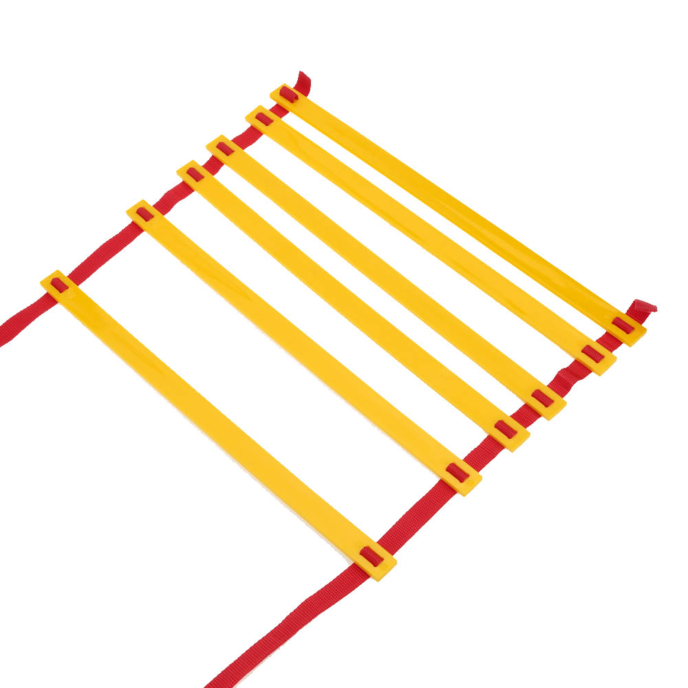 agility ladder - 6 Rung Speed Ladder Durable m Long Soccer Training Agility Speed Ladder Soccer Training Quick Flat Outdoor Fitness Equipment Y1506