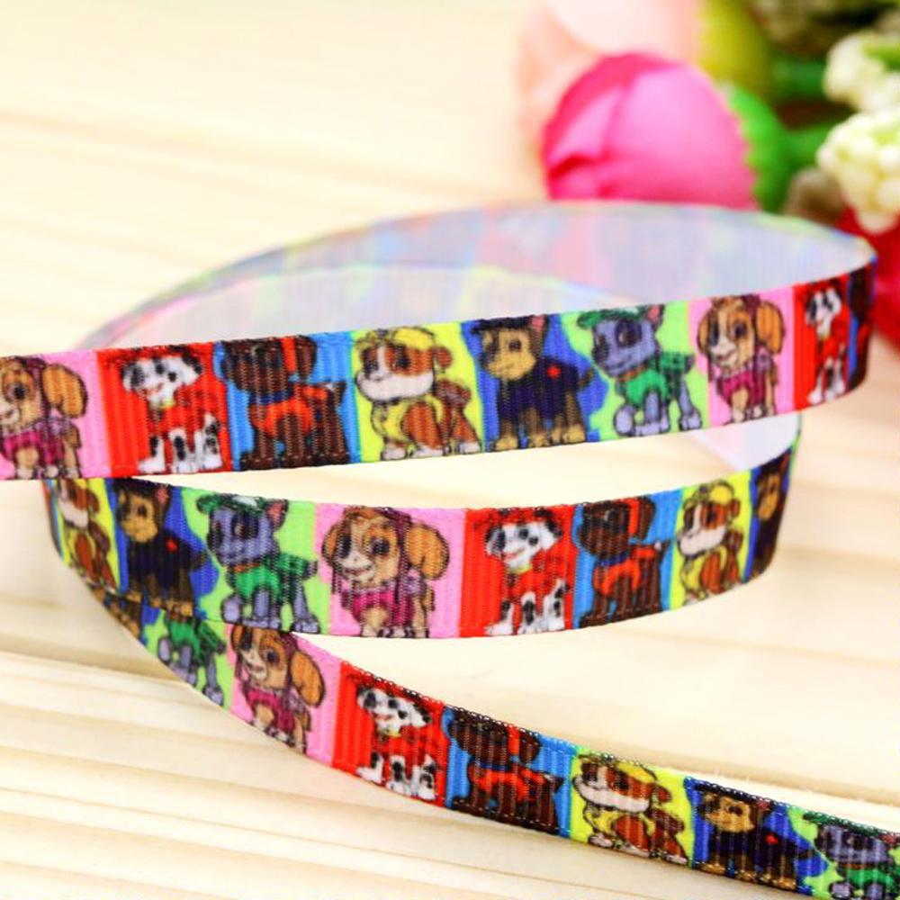 Wholesale 3 quot mm Cartoon Popular Patterns Printed Grosgrain Ribbon for Girl Hair Bow DIY Decos Yards