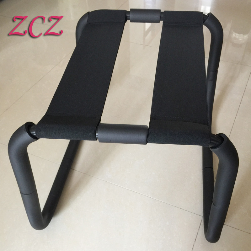 Wholesale real photo Sex Furniture Chair Stainless Steel TPU Polymer Material Sex Chair Trampoline Adult Sex Products for Couple SR052