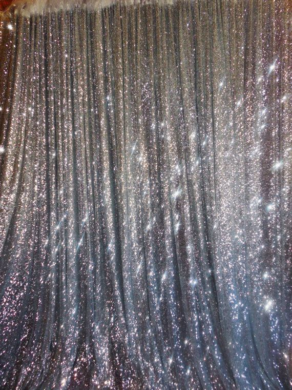 Wholesale 10FT by FT Silver Sequin Photography Backdrop For Ceremony Wedding Birthday Christmas Background Decoration