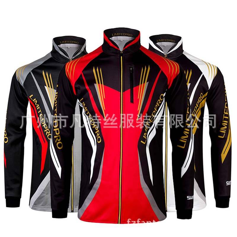 Wholesale 2016 new spring winter warm fleece fishing clothes sun protection clothing anti UV professional fishing wear colors