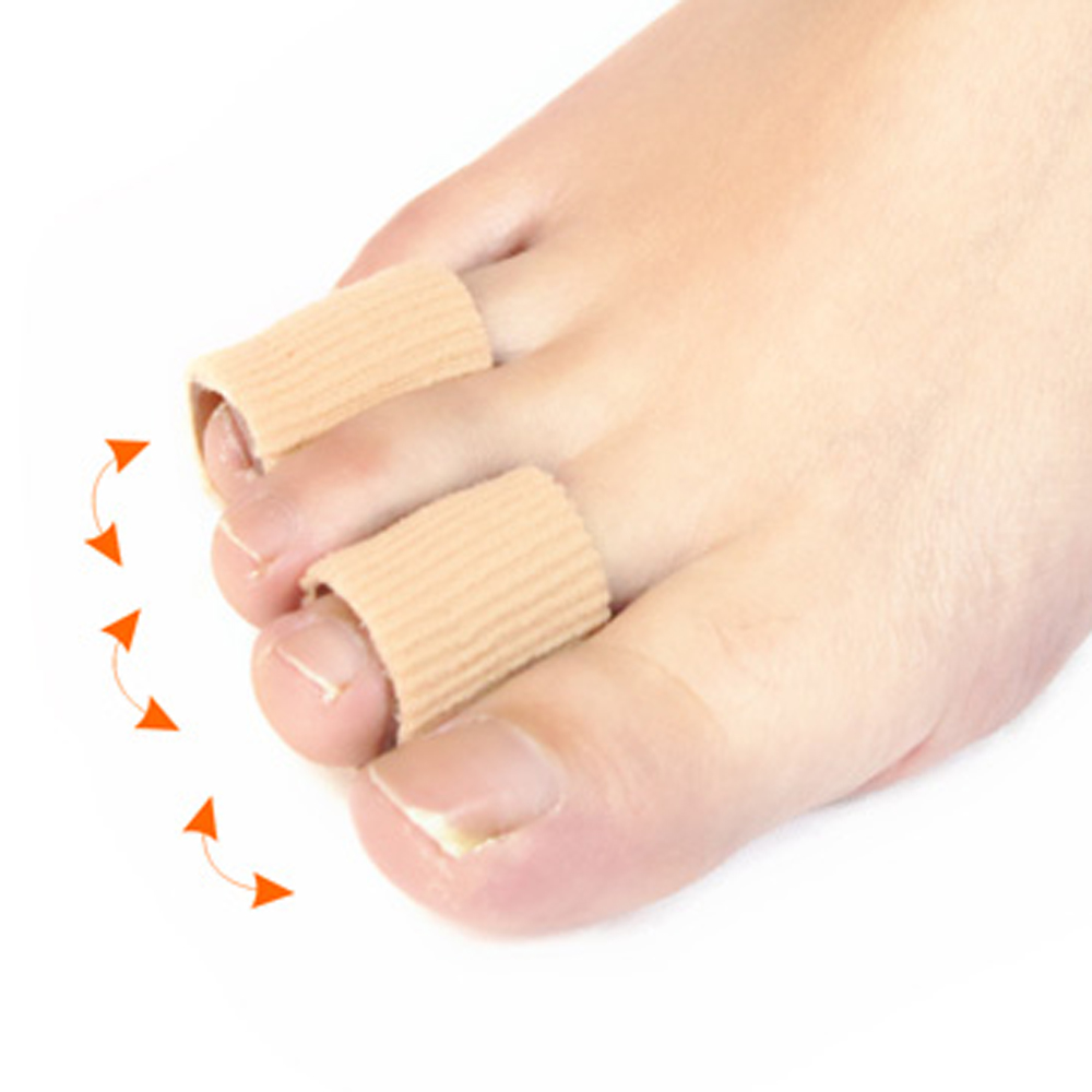Wholesale Toes Fingers Separator Divider Protector Corns Calluses Foot Paste Fabric Gel Tube Bunion Foot Sticker W969