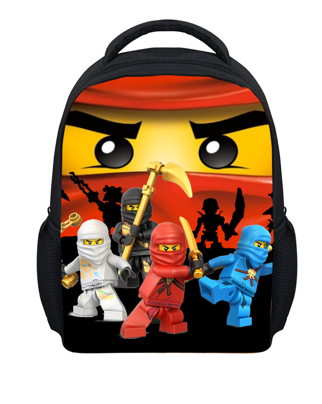 Wholesale Mochila Infantil Menino inch cartoon print Ninjago bag children school bags for boys school bags gift yearsL012