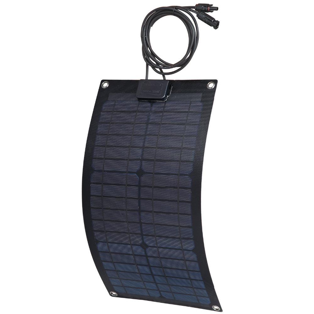 aluminum solar cell - 20W V ETFE fiberglass aluminum monocrystalline solar cell flexible solar panel