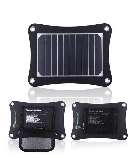Usb gopro en venta-Cargador 5W 5V del panel solar para Samsung, Gopro cámaras, dispositivos USB Andriod Tablets Todos Otros 5V