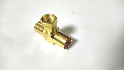 Digital Audio Anschluss 20 Stücke Vergoldet Messing F Tv Stecker Pin