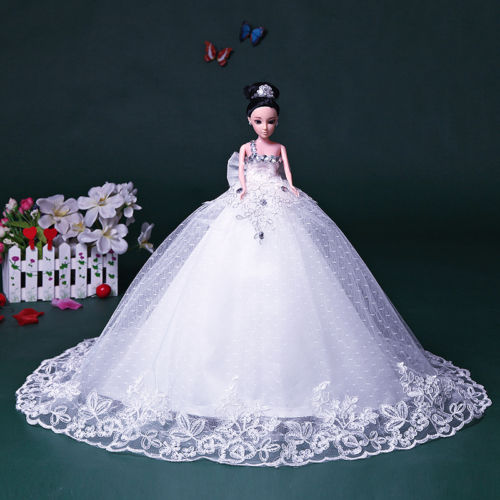 baby doll evening dresses - New Doll Original Wedding Bride Evening Clothes18 quot Big Doll With Wedding Dress
