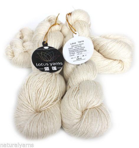 bamboo sock yarn - 400g g Bamboo sock yarn merino bamboo silk blended yarn handknitting yarn undyed yarn color nat white
