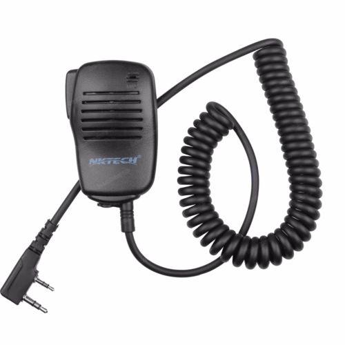Wholesale New NKTECH K Type Speaker Mic For BaoFeng UV R TYT Wouxun Kenwood Two Way Radio