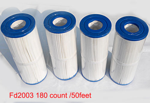 Wholesale 4pcs pool filter cartridge Diameter cm Length cm with hole cm