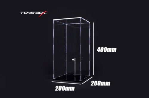 Wholesale Toys Box TH Scale Figure Display acrylic Case without Led Light