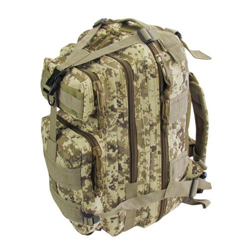 Wholesale Tourbon L Hiking Camping Bag Tactical Trekking Rucksack Camo Backpack Multi function Bags