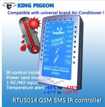 air sms - saving energy GSM SMS air conditioner controller RTU ir remote control for smart home
