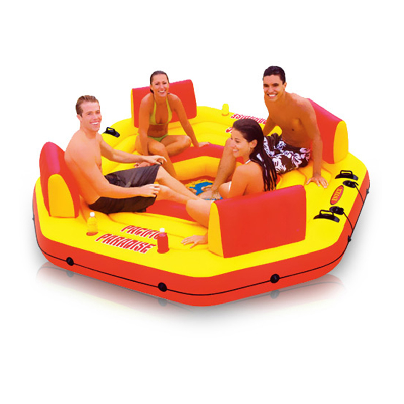 Wholesale marine chaise lounge super large water toys Air Mattresses inflatable water chair