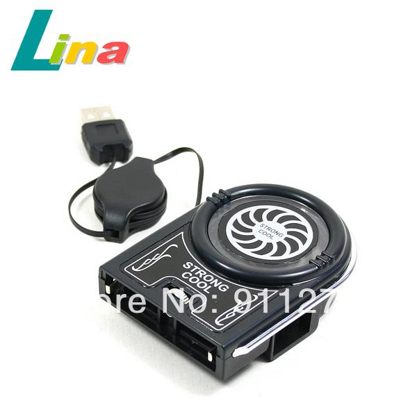 Wholesale Mini Flexible Notebook Laptop Vacuum USB Case Cooling Fan Cooler Pad