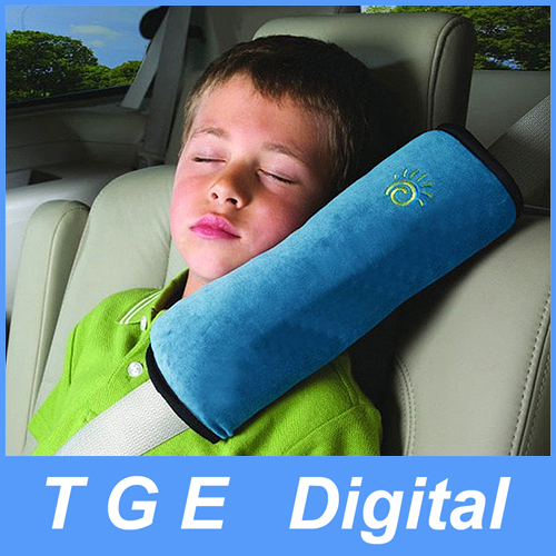 Wholesale Car Seat Lap belt Case Shoulder Pillow Guard Pad Safety for Kids Adults Sleep Cushion Color