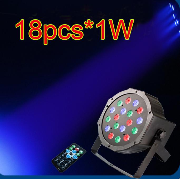 Wholesale Professional DMX RGBW LED Stage PAR Light Lighting Strobe Party Disco Show Stage Flash Light W AC V