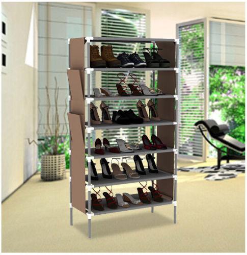 shoes rack shelf - New Portable Shelf for Shoes Housekeeper Shoe Rack Storage Hanger Cabinet Hot