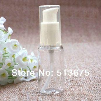 Wholesale ml Plastic lotion bottle pump cleaner lotion contaner bottle treatment pump bottle