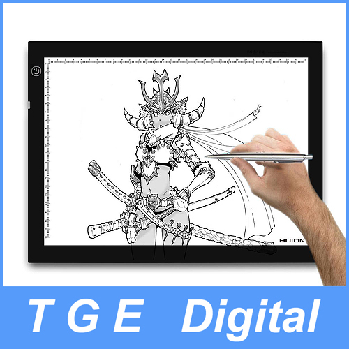 Wholesale Huion L4S A4 Inch LED Artcraft Tracing Light Pad Thinnest Sheet Light Box for Animation Copy Tattoo Tracing