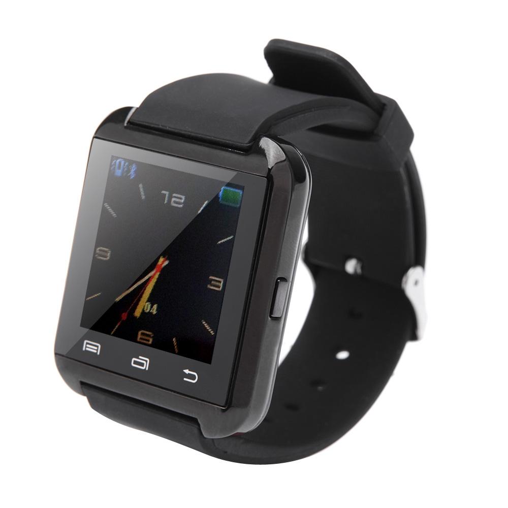 Orologio Bluetooth intelligente della vigilanza U8 Plus per smartphone cellulare Samsung HTC Android con messaggio Call Reminder Funzione PA2017