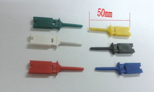 120pcs Single Hook Clip tool Mini Grabber Test Probe for SMD IC Multimeter