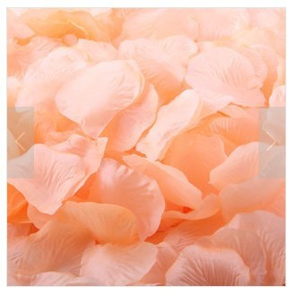 1000pcs Simulation flowers rose petals wedding wedding simulation petals rose cloth new year decorate party flower