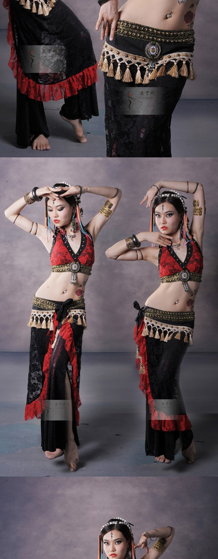Tribal belly dance wallpaper