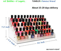 nail salon equipment - the safest bottles acrylic Nail Polish Rack layers x24x19 cm Holder Nail Salon Equipment cosmetic rack amp Lipstick