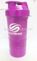 Wholesale Smart Quality Assurance Protein Powder Shaker Bottle Sports Bottle Fitness Bottle Triad Bottle ML