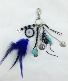 Trousseaux gros fleur en Ligne-2015 croix Modèle porte-clés porte-clés receveur de rêve gros-Nouvelle Specail petit cadeau comme le coeur de la fleur Le pendentif plume