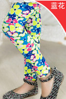 best tights brands - An New fashion girls summer leggings children cute tights kids muti color beautiful girls brand best sell flower
