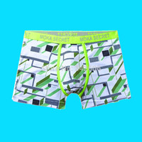 authentic branded underwear - Sexy Hipster Lycra Gay Men Underwear Wicking Printing pants shorts men boxers NEW AUTHENTIC brand of jizun