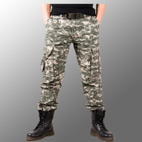 army fatigue colors - Quality Guaranteed And Hot Sale Brand Camouflage Camo Jungle Fatigue Cargo Army Military PANTS Colors