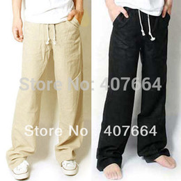 Discount Best Linen Pants Men | 2017 Best Linen Pants Men on Sale ...