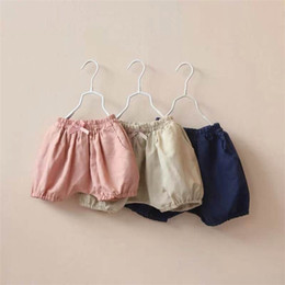 Wholesale Girls casual Style Shorts Kids Children Bowknot Short Pants baby cute knickers Baby Girl Summer Clothing Free Drop Shipping