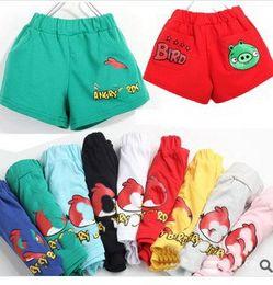 Wholesale Child Boy Model Beach - Wholesale-Summer models cartoon shorts beach pants children boys and girls sports shorts free shipping