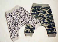 baby pants breeches - new spring fashion summer unisex children baby amp kids breeches pants boy girl casual brand Harem Camouflage Leopard retail