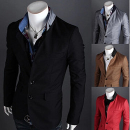 Wholesale-Male Suit New Design Mens Brand Blazer Jacket Coats Casual Slim Fit Stylish Blazers For Men ZHY573