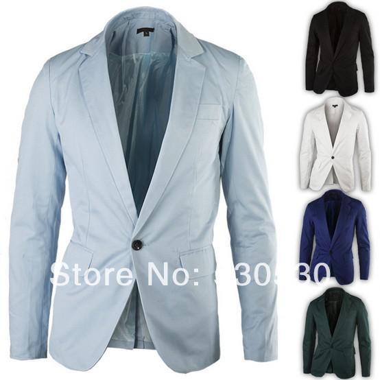 2017 Wholesale New Blazers Fashion Men Leisure Suit Classic Mens ...