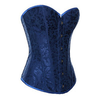 big binders - plus size burlesque costumes women chest binder Overbust big size plus size Female bustiers and corsets waist training girdle