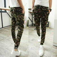 baggy combat trousers - Men s Army Military Camouflage Combat Sweatpants Casual Slim Cargo Harem Baggy Jogging Dance Pants Trousers