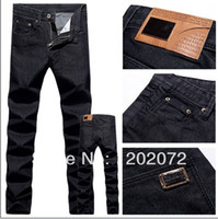 name brand jeans - New Arrival Men Famous Brand Name Designer Straight Washed Jeans High Quality Narrow Slim Jeans Pants