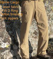 alpine pants - Men Softshell warterproof Breathable TAD Alpine Cargo Pants
